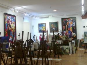 В музее Церетели Зураба 012