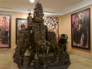 В музее Церетели Зураба 015