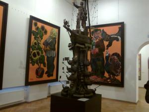 В музее Церетели Зураба 019